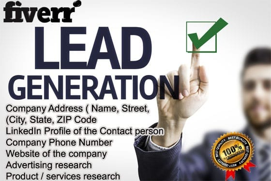 Provide genuine lead generation by Murmuroyal507