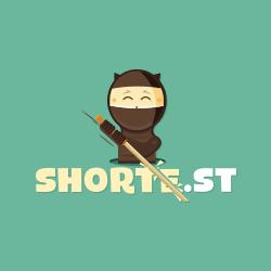 Earn money on short links. Make short links and earn the biggest money - Shorte.st links