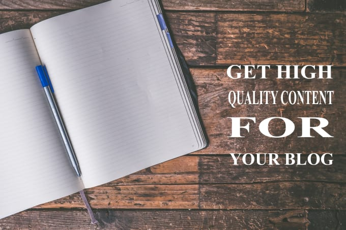 Be a high quality content writer for your blog or website by Khokon1116