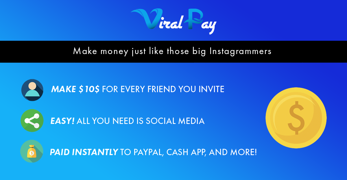 Viral Pay | Start Making Money On Social Media With Viral Pay
