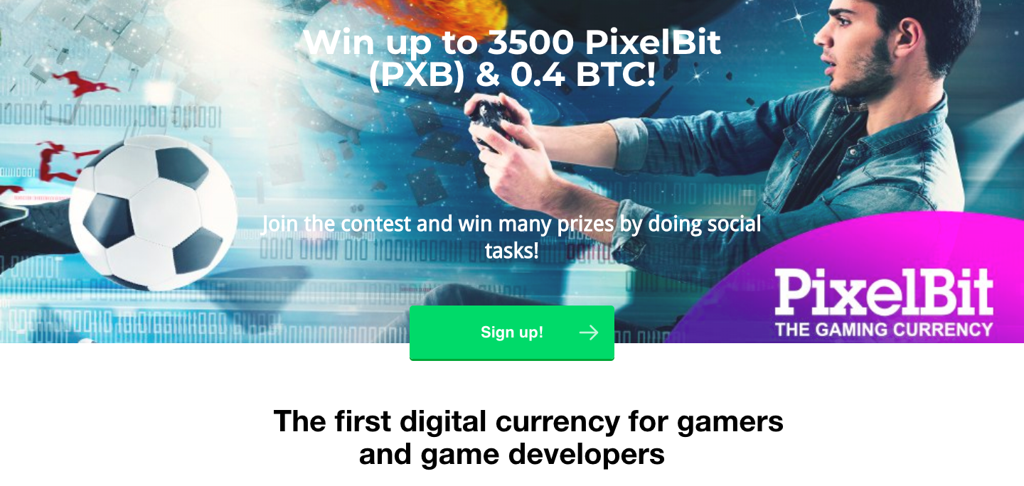 Win up to 3,500 PXB & 0.40 BTC
