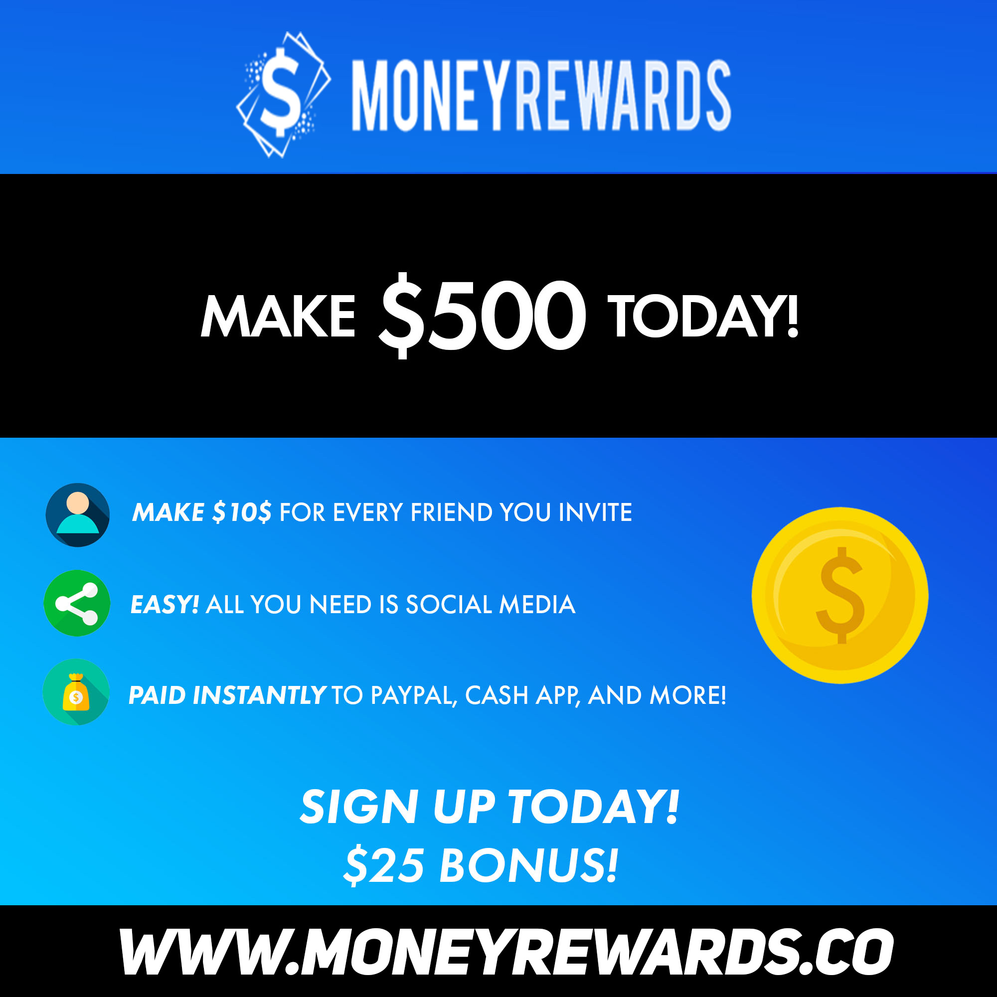 MoneyRewards ? Get paid for using Social Media in 2019