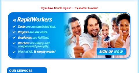 উপার্জন করুন RapidWorkers থেকে মাইক্রো-জব করে। 2009-2019 পর্যন্ত পেমেন্ট করছে। Easy way money RapidWorkers - Job Advice