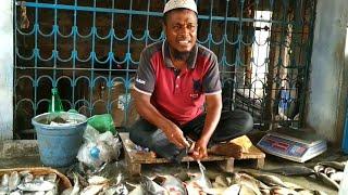 Bangladeshi Fish Monger In Fish Market