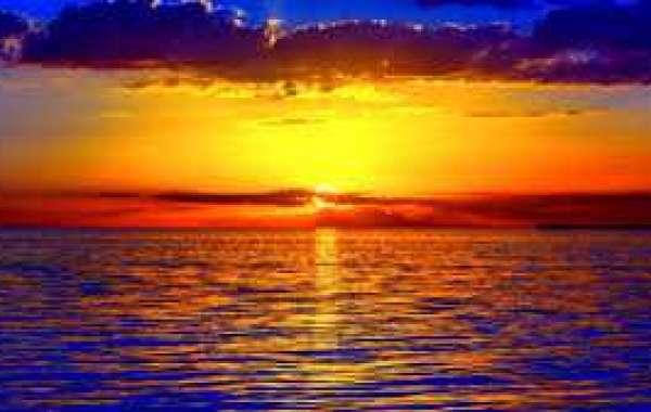 A beautifull sun-set