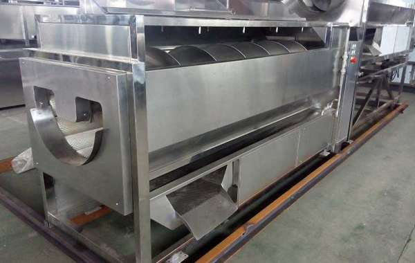 Vegetable Processing Machine - Processing Current Situation
