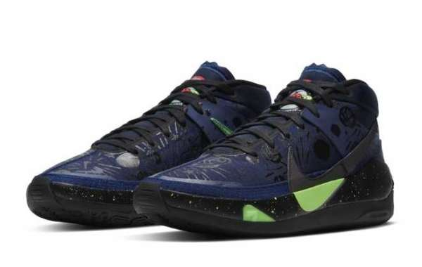 """2020 Nike KD 13 """"The Planet of Hoops"""" CI9948-400"""