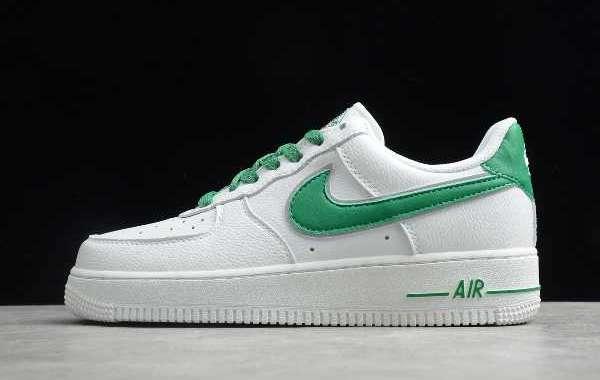 2020 Nike Air Force 1 '07 AN20 Black/White CJ0952-001