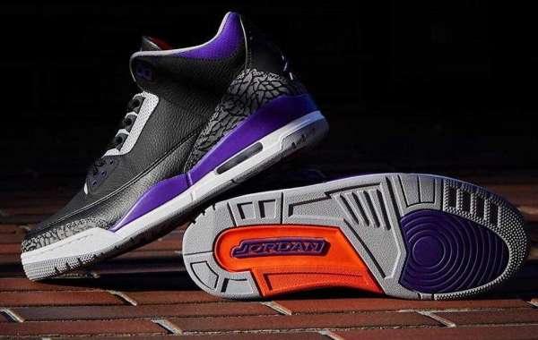 Where to Buy discount Air Jordan 3 Court Purple ?