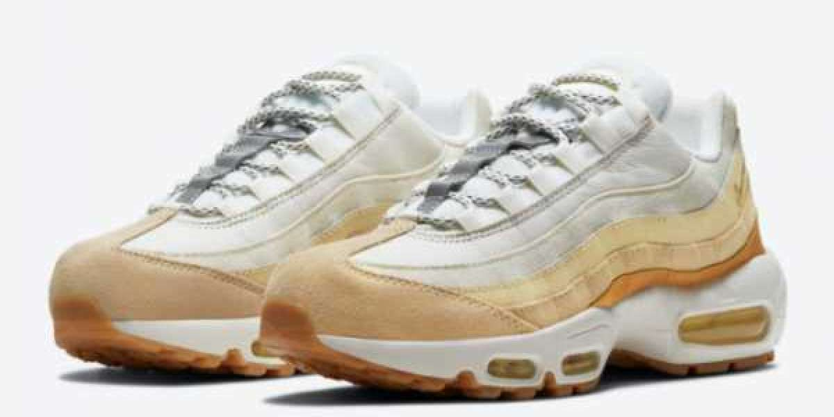 "Nike Air Max 95 ""Coconut Milk"" 2021 New Arrival DD6622-100"