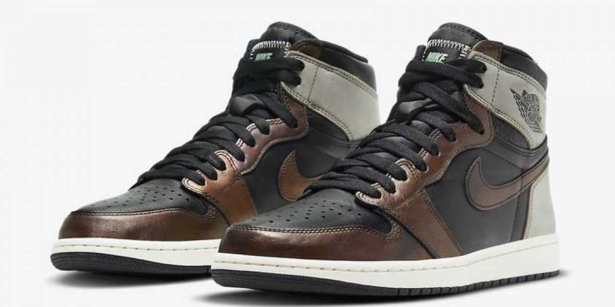 "555088-033 Air Jordan 1 High OG ""Patina"" will be officially launched on March 13th"