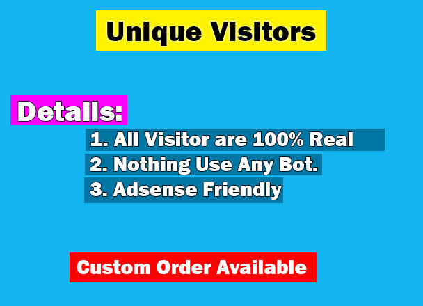 Bring real visitors, targeted web traffic for your link by Afrozabegumbd   Fiverr