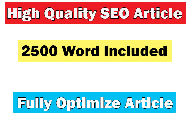 Be your seo article writer and blog writer for your website by Sohel1996   Fiverr