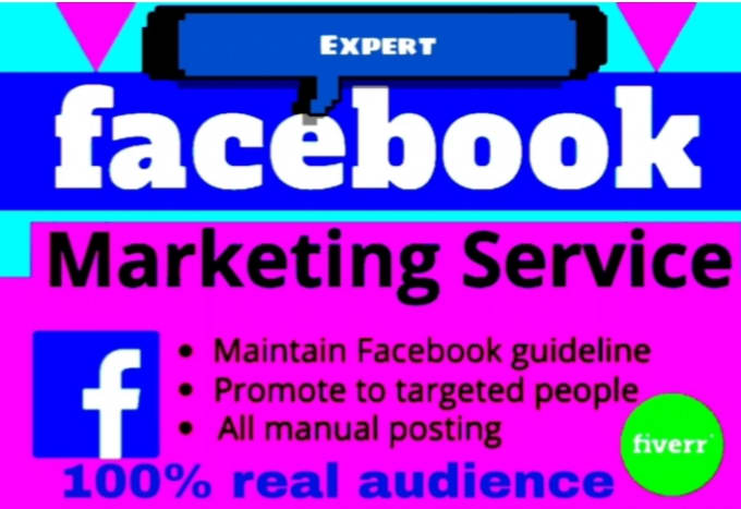 Do promote facebook in usa by Shehab0466 | Fiverr
