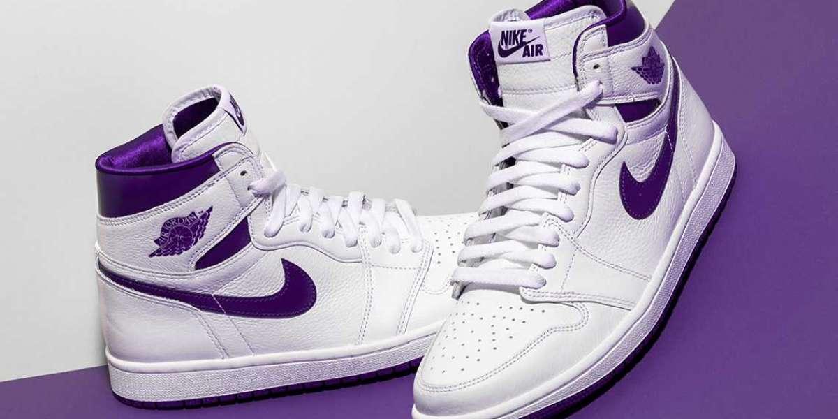 """Where To Buy Air Jordan 1 Retro High OG Womens """"Court Purple"""" CD0461-151"""
