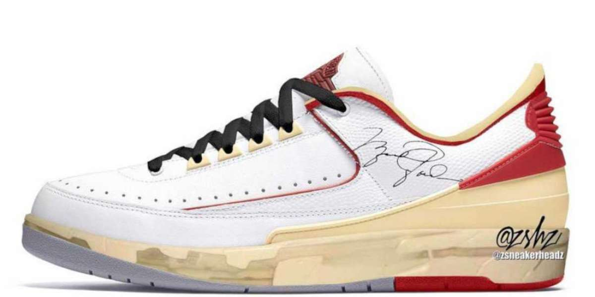 Latest 2021 Off-White x Air Jordan 2 Low Basketball Shoes