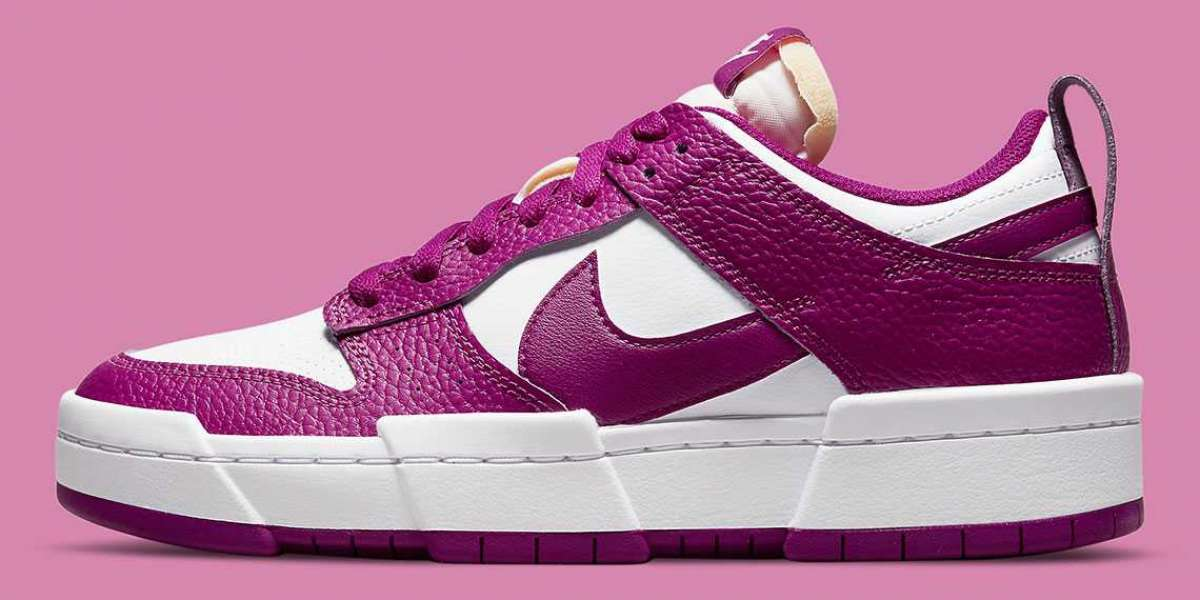 Nike Dunk Low Disrupt DN5065-100 in the cactus flower returns