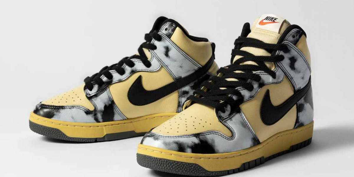 """DD9404-700 Nike Dunk High 1985 """"Acid Wash"""" will be released on August 28"""