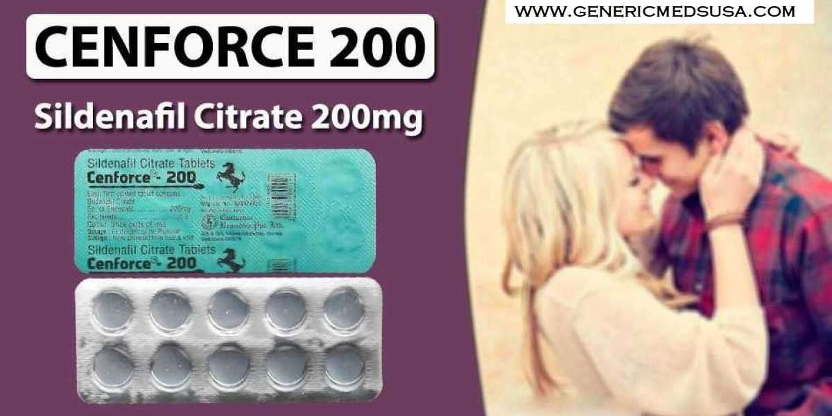 Cenforce 200: Brings Back Enhancement in your love life